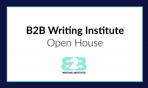 B2B Writing + Freelance Writing