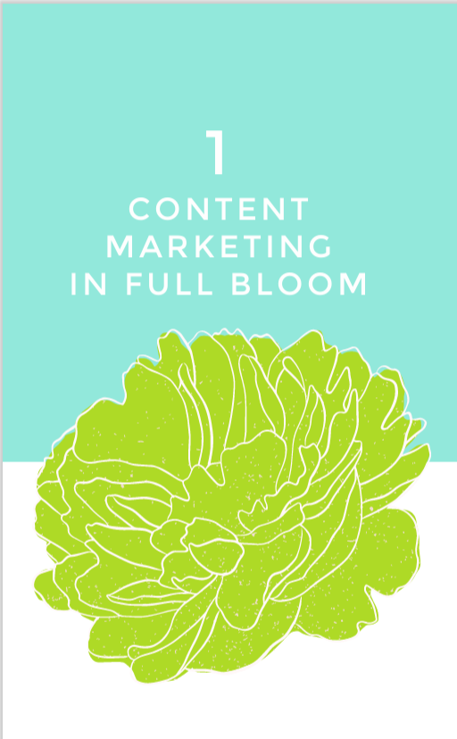 B2B Writing - Content Marketing In Full Bloom